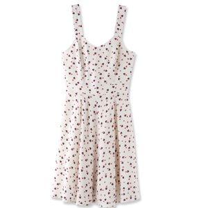 Disney Lauren Conrad white Mickey Mouse dress sz 4